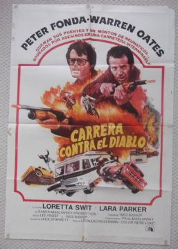 Race With the Devil, Original Argentinian Movie Poster, Peter Fonda, '75